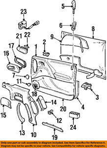 Image Is Loading Cadillac GM OEM 97 99 Catera Front Door