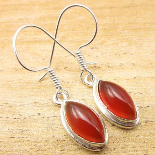 925 Silver Plated CARNELIAN /& Other Gemstone BESTSELLER Earrings *Great Variety*