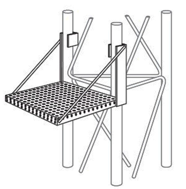 ROHN WP45G Work Platform for 45G Towers - Genuine OEM Part R-WP45G. Available Now for 199.00