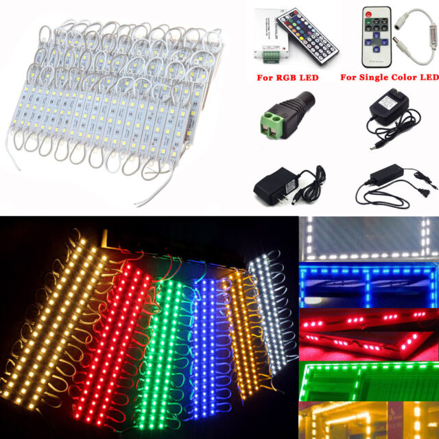10-250FT SMD 5050 3LED Module STORE FRONT Window Light Sign Letters Waterproof