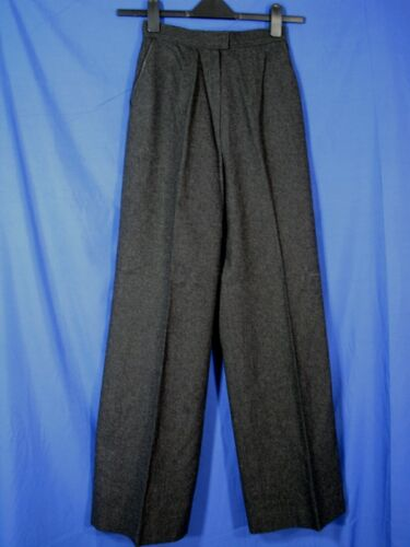 PENDLETON Charcoal VIRGIN WOOL Vintage BELL BOTTOM