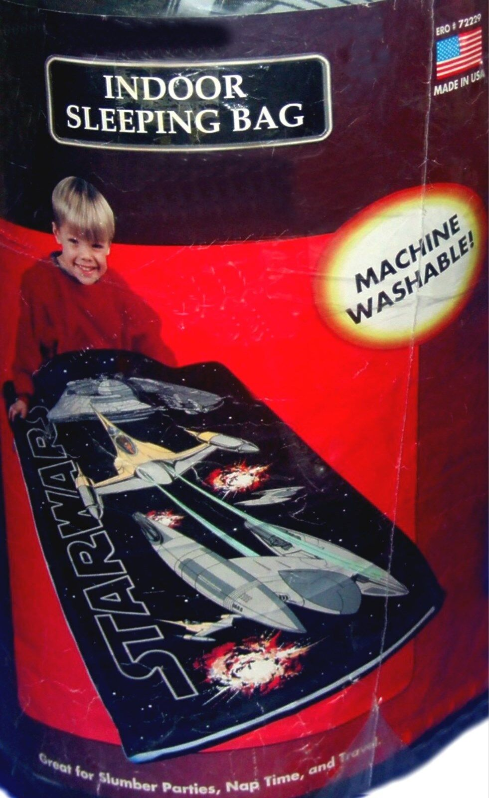 Star Wars Episode 1 Couette Literie \ Indoor Slumber Sac de couchage FACTORY SEAL