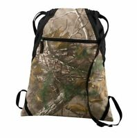 Realtree Xtra® Camo Draw String Cinch Sack Bag Backpack Gym Tote Travel Pack