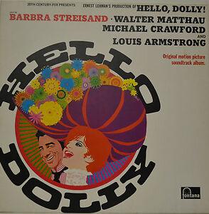 Ost Helly Dolly Streisand Matthau Crawford