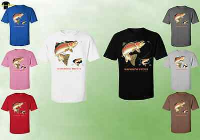 Trout Fish Fishing Rod 11796HL2 Unisex T-Shirts Fishing Fish Ocean Water