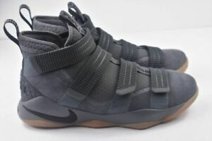 new style 75576 859da Details about Nike Lebron Soldier XI SFG Mens Size 10.5 Basketball Shoes  Grey 897646 003