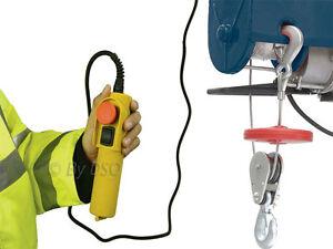 Silverline-250kg-Electric-Winch-Hoist-Scaffold-Mounted-for-Workshop-Garage-Shop