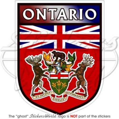 Ontario province Sign Canada Canadien 100mm Vinyl Sticker