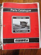Massey Ferguson 8560 Rotary Combine Parts Catalog Manual