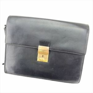 3e535cc7ff1 Image is loading Gucci-Clutch-bag-Black-Woman-unisex-Authentic-Used-