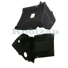 01-07 C-Class Front Splash Shield Inner Fender Liner Panel Left /& Right SET PAIR