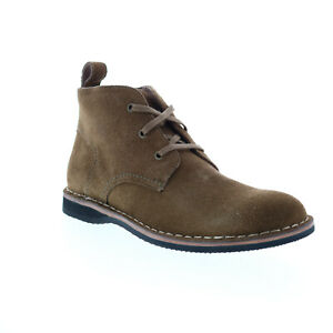 Andrew Marc Dorchester Chukka AM1004-2163 Mens Brown Suede Chukkas Boots