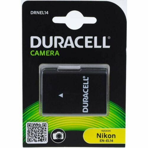 1wh Li-ion negro Duracell batería para Nikon Coolpix p7000 1100mah 7,4v 1100mah//8