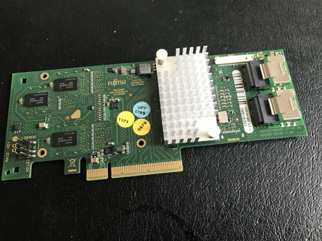 FUJITSU 8 PORT SAS RAID CONTROLLER - 6Gb/s RAID 5/6 512MB CARD D2616-A22