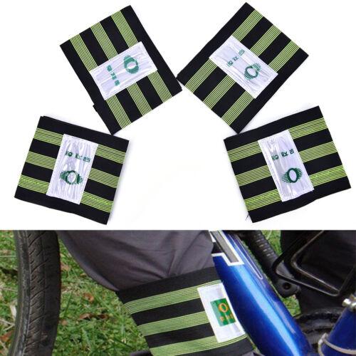 1 Paar Radfahren Fahrrad Fahrrad Binden Elastische Hosen Hosen Band Bein StrapBn