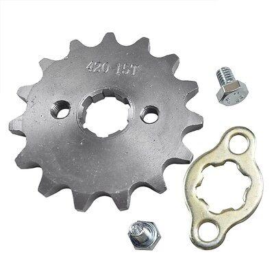 420 15 T 17mm Front Engine Sprocket Fit 125cc 140cc 150cc YCF SSR Dirt Pit Bike