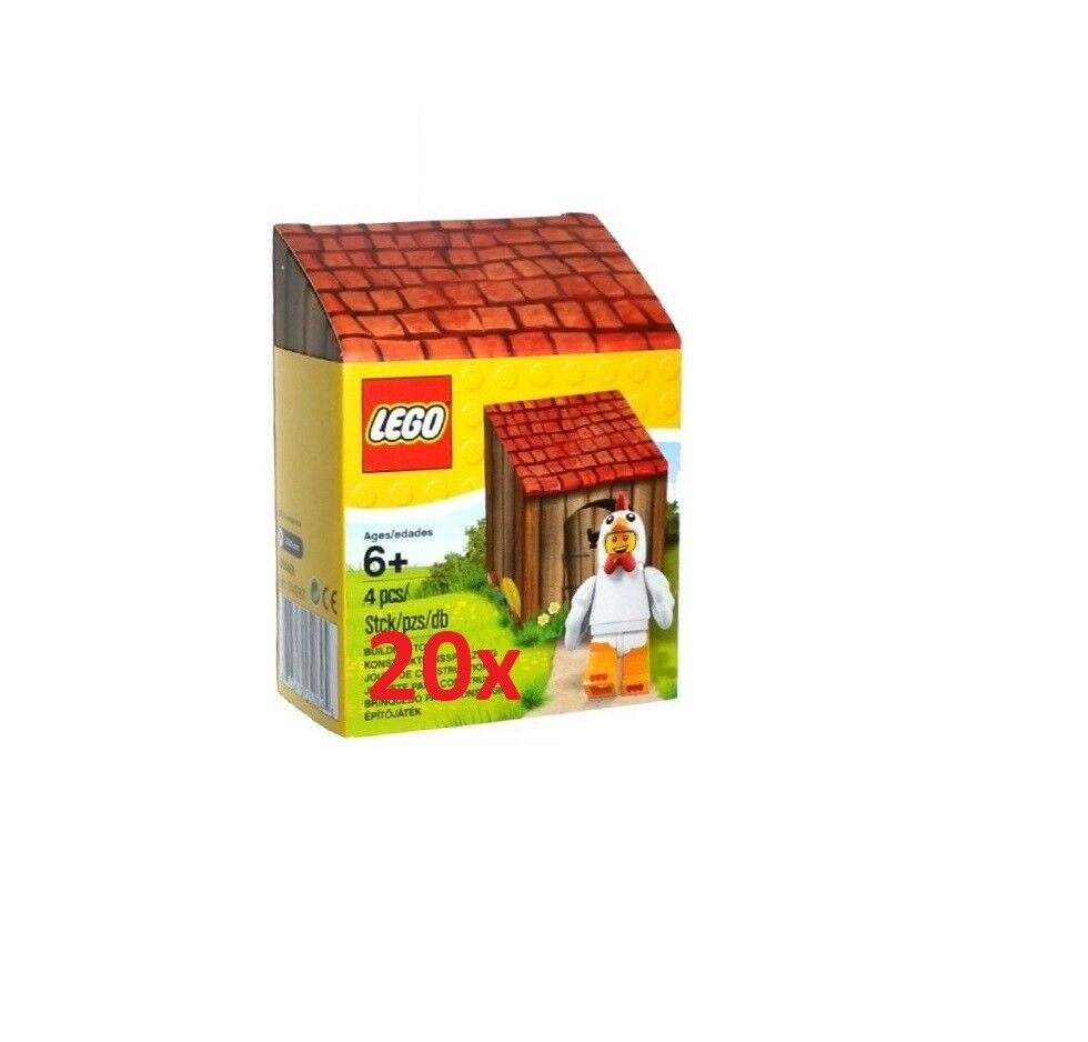 LEGO® 20x Easter  Minicifra 5004468 - nuovo   FACTORY SEALED - YEAR 2016  molto popolare