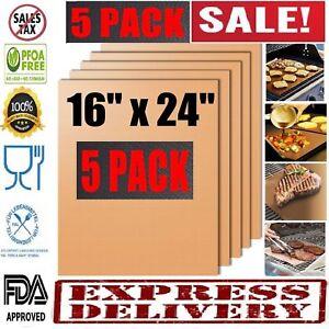 BBQ-Grill-Mat-5-Copper-Non-Stick-Bake-Magic-Matt-Miracle-Reusable-As-Seen-On-Tv