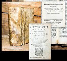 1576 Thomas a Kempis Opuscula aurea vereque lucidissima