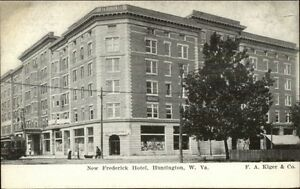 Image Is Loading Huntington Wv New Frederick Hotel C1905 Postcard