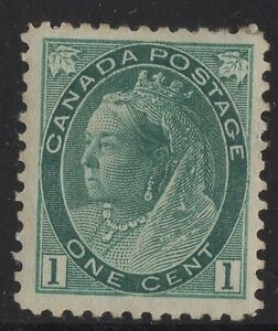 MOTON114-75-Numeral-1c-Canada-mint-well-centered