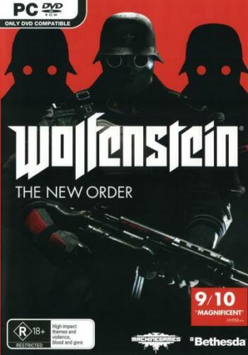 1 of 1 - Wolfenstein The New Order  - PC game - BRAND NEW