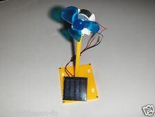Build you own Popular Educational solar fan science project unisex easy to build