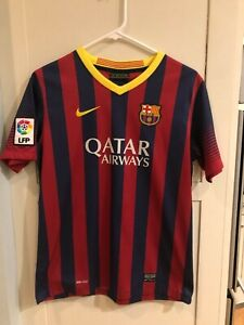 6a4cd9f4f23 FC Barcelona Barca NEYMAR JR Home Jersey Nike Unicef Qatar Airways ...