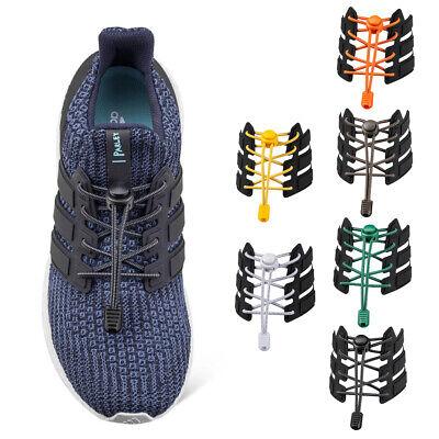 1 Pair Man Elastic No Tie Locking Shoelaces Trainer Running Athletic Shoe Laces