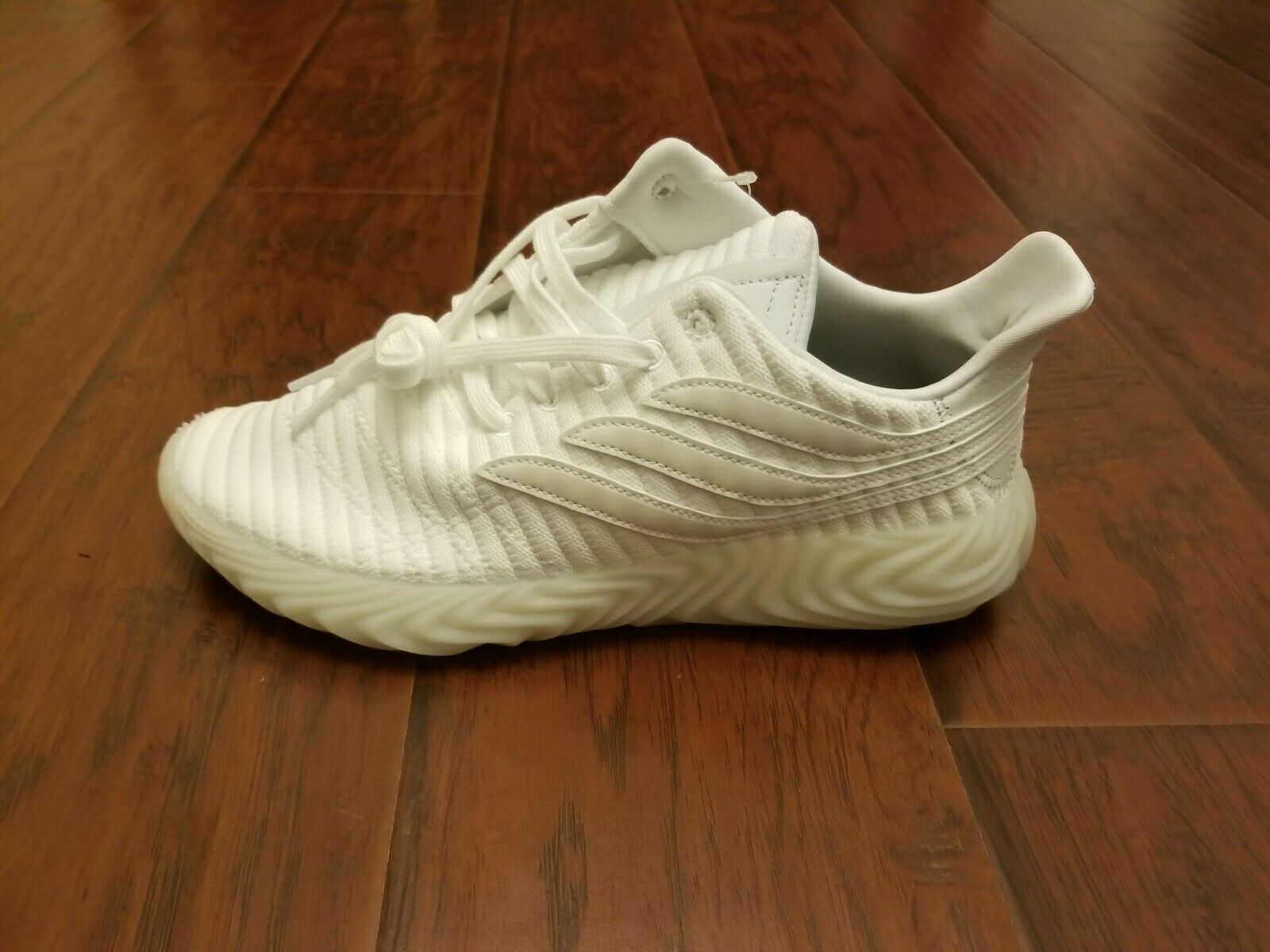 Adidas Sobakov B41955 Cloud White Upper With Crystal White- Deadstock Size 9