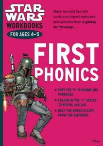 Star-Wars-Workbooks-First-Phonics-Ages-4-5-by-Scholastic-NEW-Book-FREE-amp-FA