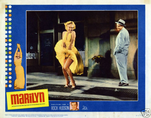 Marilyn narrated by Rock Hudson vintage movie poster print 2