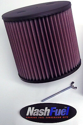 IMPCO ADAPTER /& K/&N AIR FILTER KIT FOR CT425M PROPANE MIXER