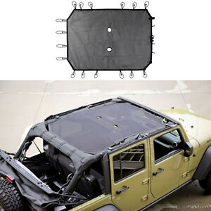 Black Eclipse Mesh Sunshade Top Cover Uv Protection For