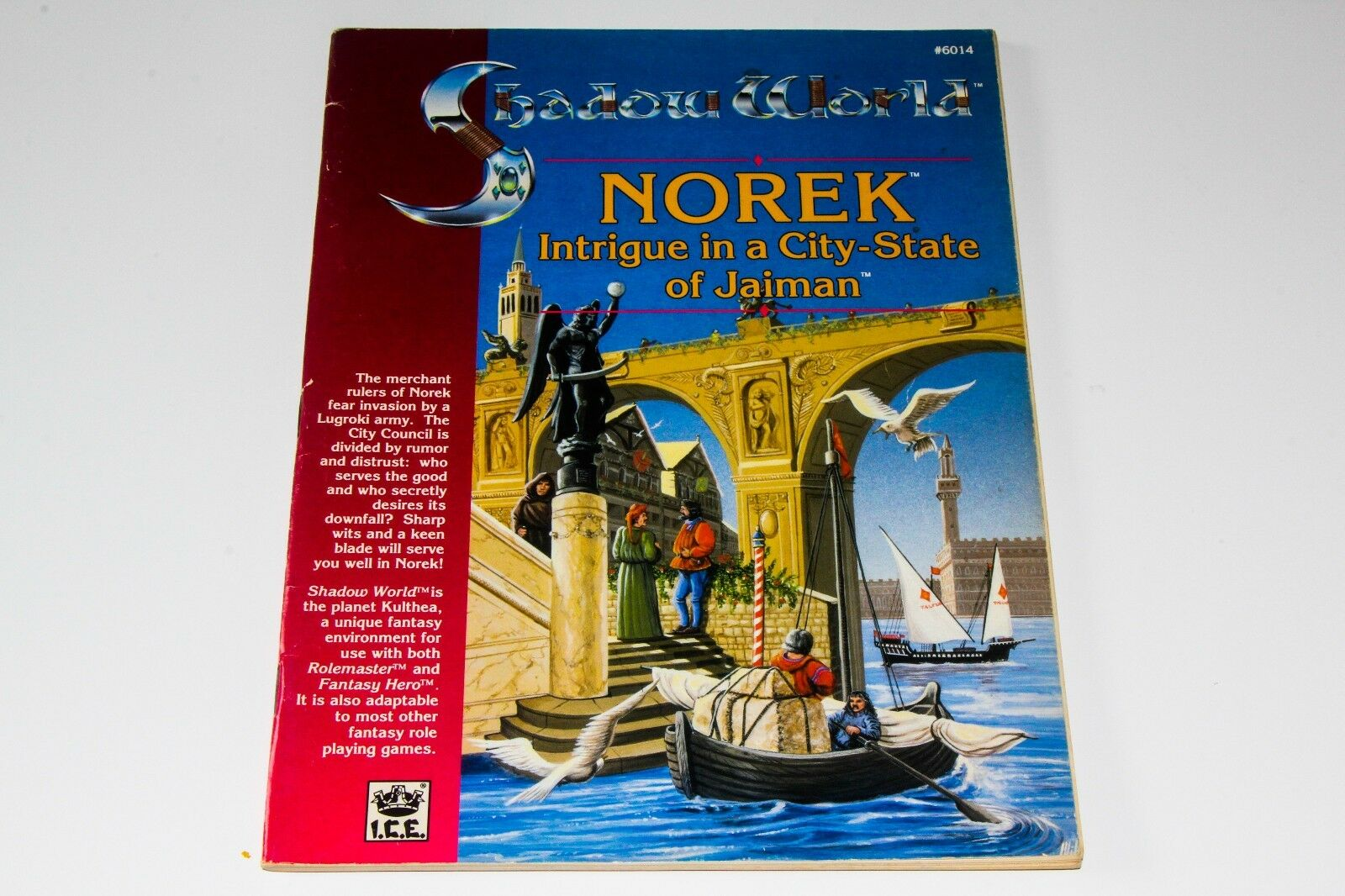ROLEMASTER - SHADOW WORLD - NOREK INTRIGUE IN A CITY-STATE OF JAIMAN