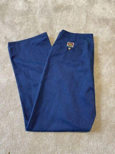 Vintage Ben Davis Work Pants Navy Blue Size 34 X 3