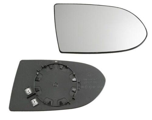 Spiegelglas Außenspiegel Rechts Heizbar Konvex Chrom OPEL ZAFIRA A Neu