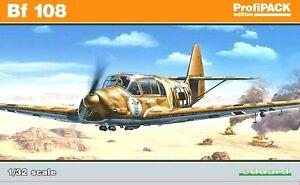 Eduard Profipack 1:3 2 Messerschmitt Bf 108 Taifun Aircraft Modèle Kit
