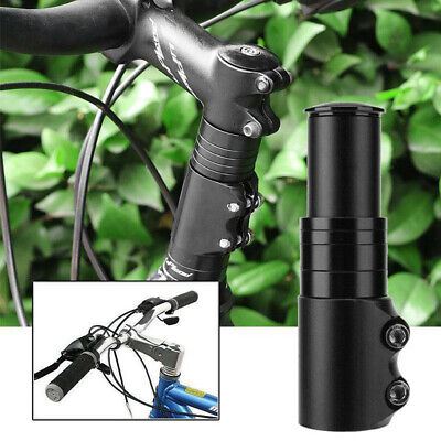 1x Bicycle Handlebar Riser Head Up Adapter Cycling Fork Stem Extender Bike Part