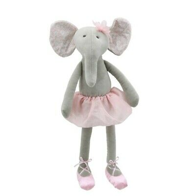 wilberry ballet dancers grey elephant doll cute soft toy
