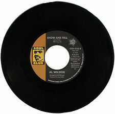 "AL WILSON  ""SHOW AND TELL""   SO SOULFUL 70's BEAT BALLAD     LISTEN!"