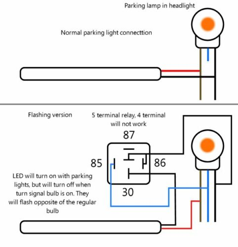 LED DRL Head Light Strips Daytime Running Lamps Kit for Jeep Grand Cherokee