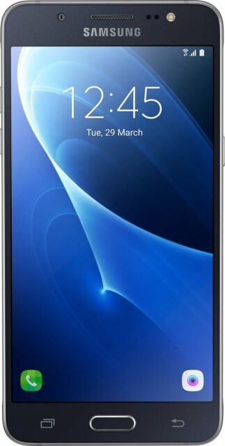 Samsung Galaxy J5 Smartphone sm-j510 16GB (5,2 pulgadas) NEGRO MUY BIEN