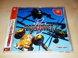 Sega-Dreamcast-Zero-Gunner-2-SHMUP-2D-Shooter-JAPAN-NTSC