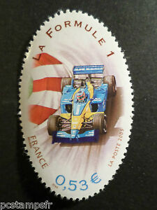 France 2005, Timbre 3800, Gordon Bennet Sport Automobile, Les Rallyes Neuf** Mnh