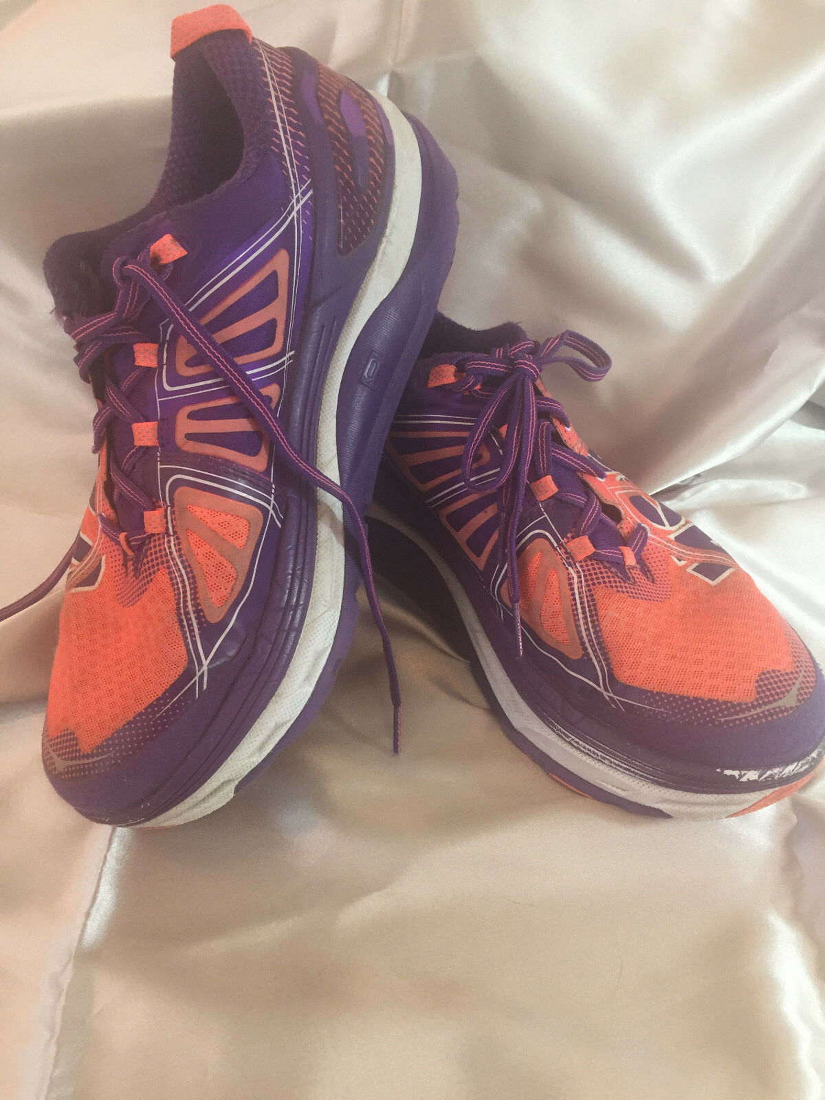 Women's Hoka One One Constant 2 Coral Purple 1009641 Running shoes Size 10.5