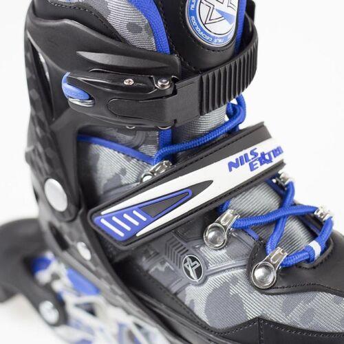 Inlineskates Inliner Skates Rollschuhe Skating verstellbar Sport S M L NA1118