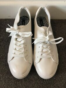 New Look Ladies White Trainers UK 9