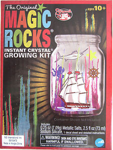 magic rocks instant crystal growing kit instructions