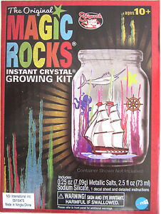 Scholastic crystallized crystals kit and book